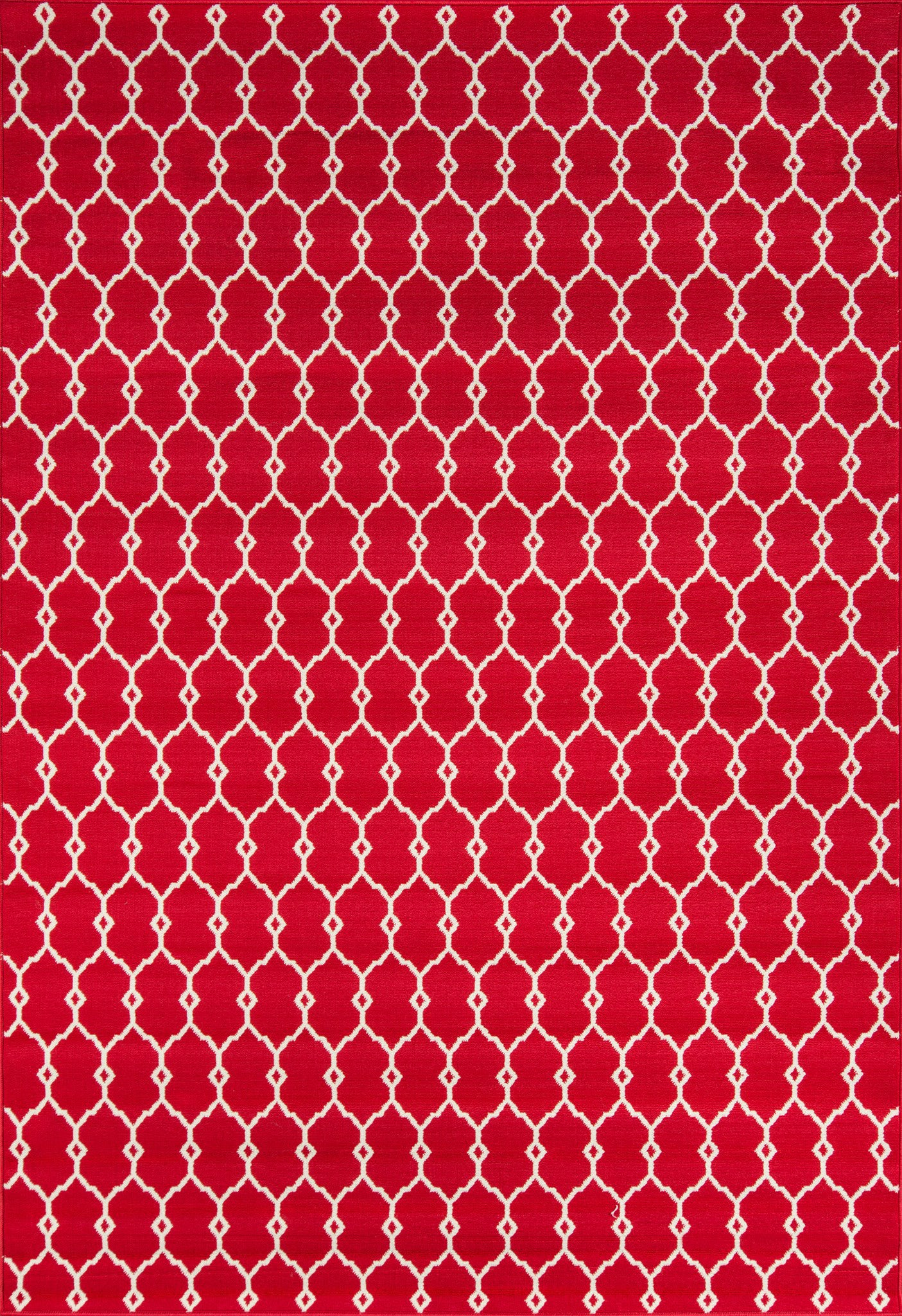 Momeni Baja BAJ-2 Red Area Rug main image