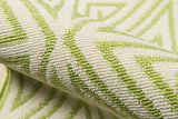 Momeni Baja BAJ-4 Green Area Rug Detail Shot