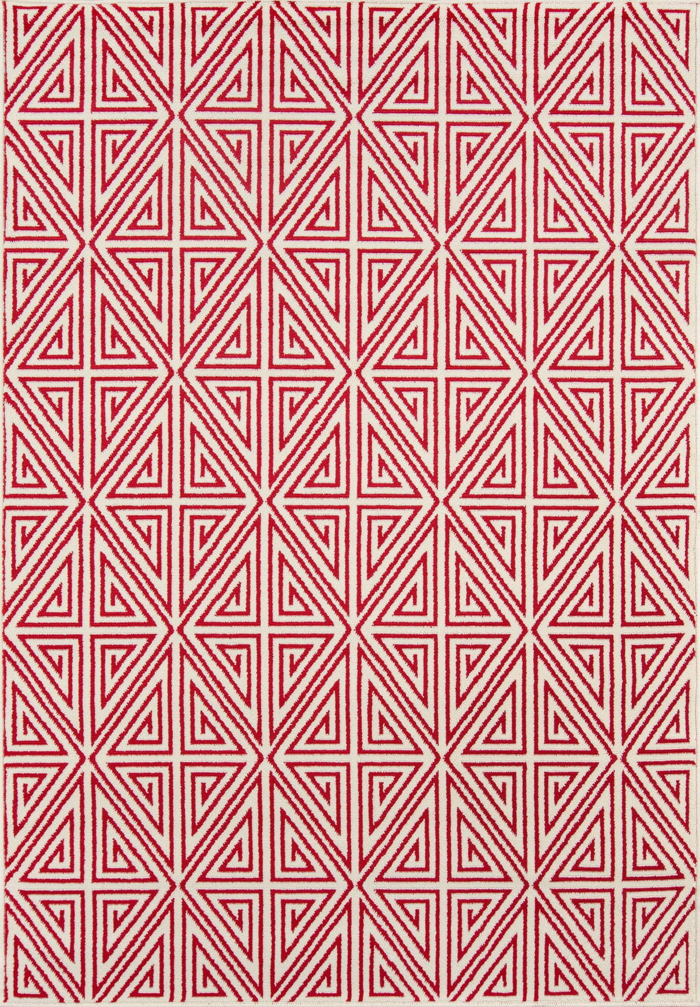 Momeni Baja BAJ-4 Red Area Rug main image