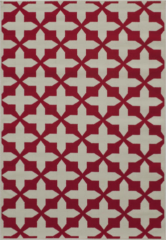Momeni Baja BAJ12 Red Area Rug main image