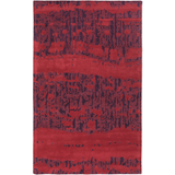 Surya Bali BAL-1927 Burgundy Area Rug by Peter Som
