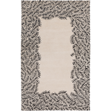 Surya Bali BAL-1934 Light Gray Area Rug by Peter Som 5' x 8'