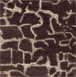 Surya Banshee BAN-3304 Chocolate Hand Tufted Area Rug 16'' Sample Swatch