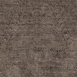 Surya Bayburt BAY-1753 Dark Brown Hand Knotted Area Rug Sample Swatch