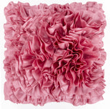 Surya Prom Ruffles and Rouching BB-034 Pillow 22 X 22 X 5 Poly filled