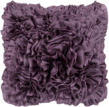 Surya Prom Ruffles and Rouching BB-035 Pillow 18 X 18 X 4 Poly filled