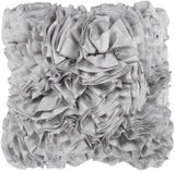 Surya Prom Ruffles and Rouching BB-036 Pillow 22 X 22 X 5 Poly filled