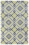 Rizzy Bradberry Downs BD8590 Green/Ochre Area Rug
