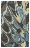 Rizzy Bradberry Downs BD8597 Blue Area Rug