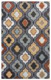 Rizzy Bradberry Downs BD8602 Blue Grey Area Rug