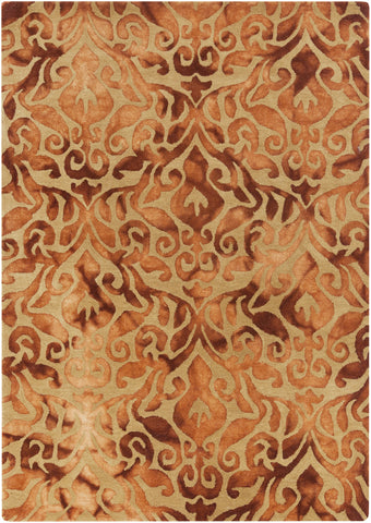 Surya Belladonna BDA-3002 Burnt Orange Area Rug main image