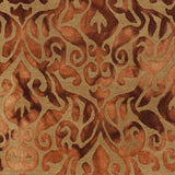 Surya Belladonna BDA-3002 Burnt Orange Area Rug Sample Swatch