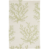 Surya Boardwalk BDW-4008 Lime Area Rug by Somerset Bay 2' x 3'