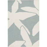 Surya Boardwalk BDW-4013 Sky Blue Area Rug by Somerset Bay 2' x 3'
