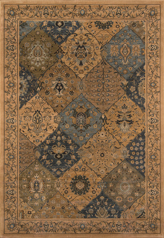 Momeni Belmont BE-01 Blue Area Rug main image