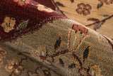Momeni Belmont BE-01 Burgundy Area Rug Detail Shot