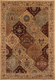 Momeni Belmont BE-01 Burgundy Area Rug main image