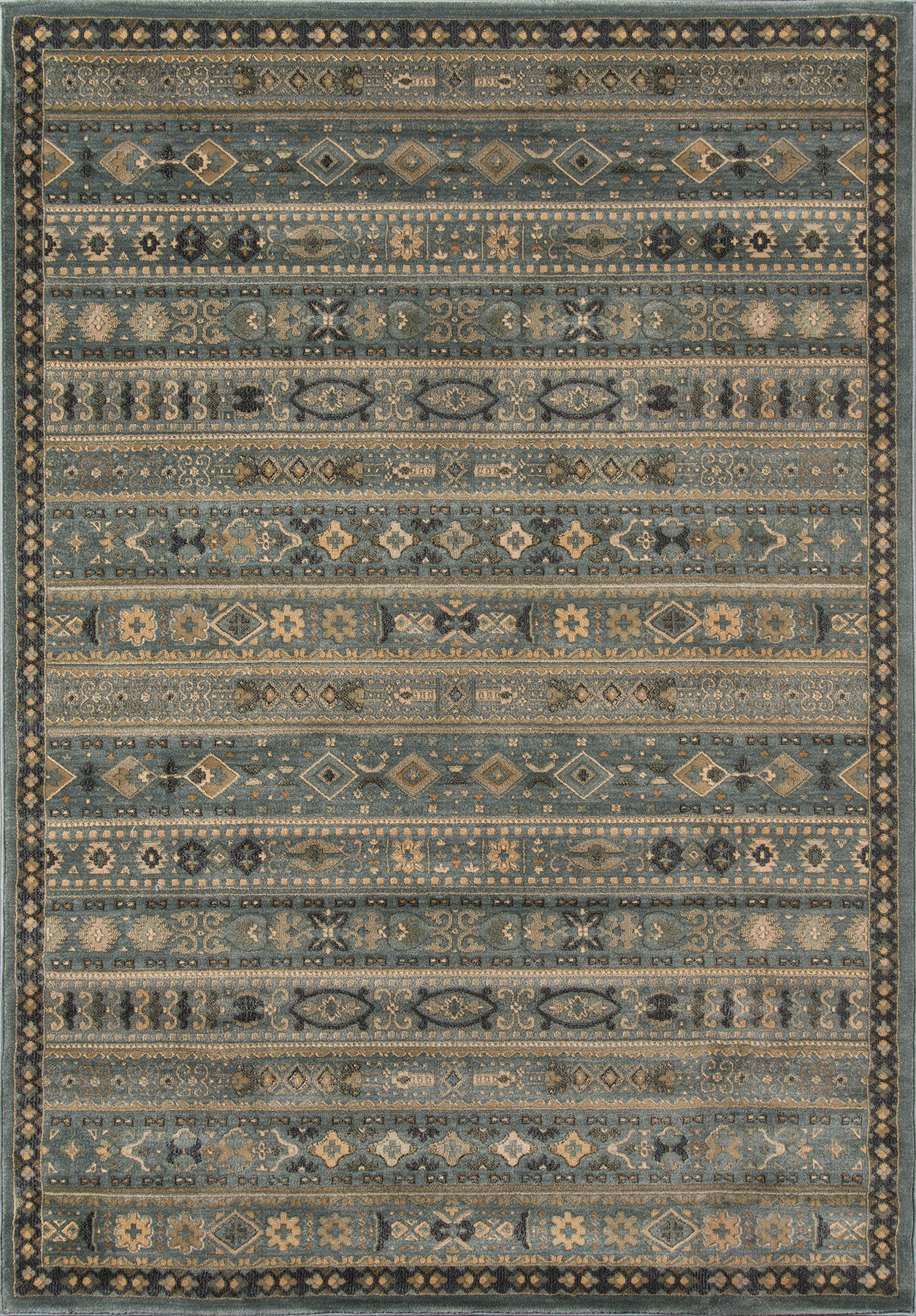 Momeni Belmont BE-04 Light Blue Area Rug main image