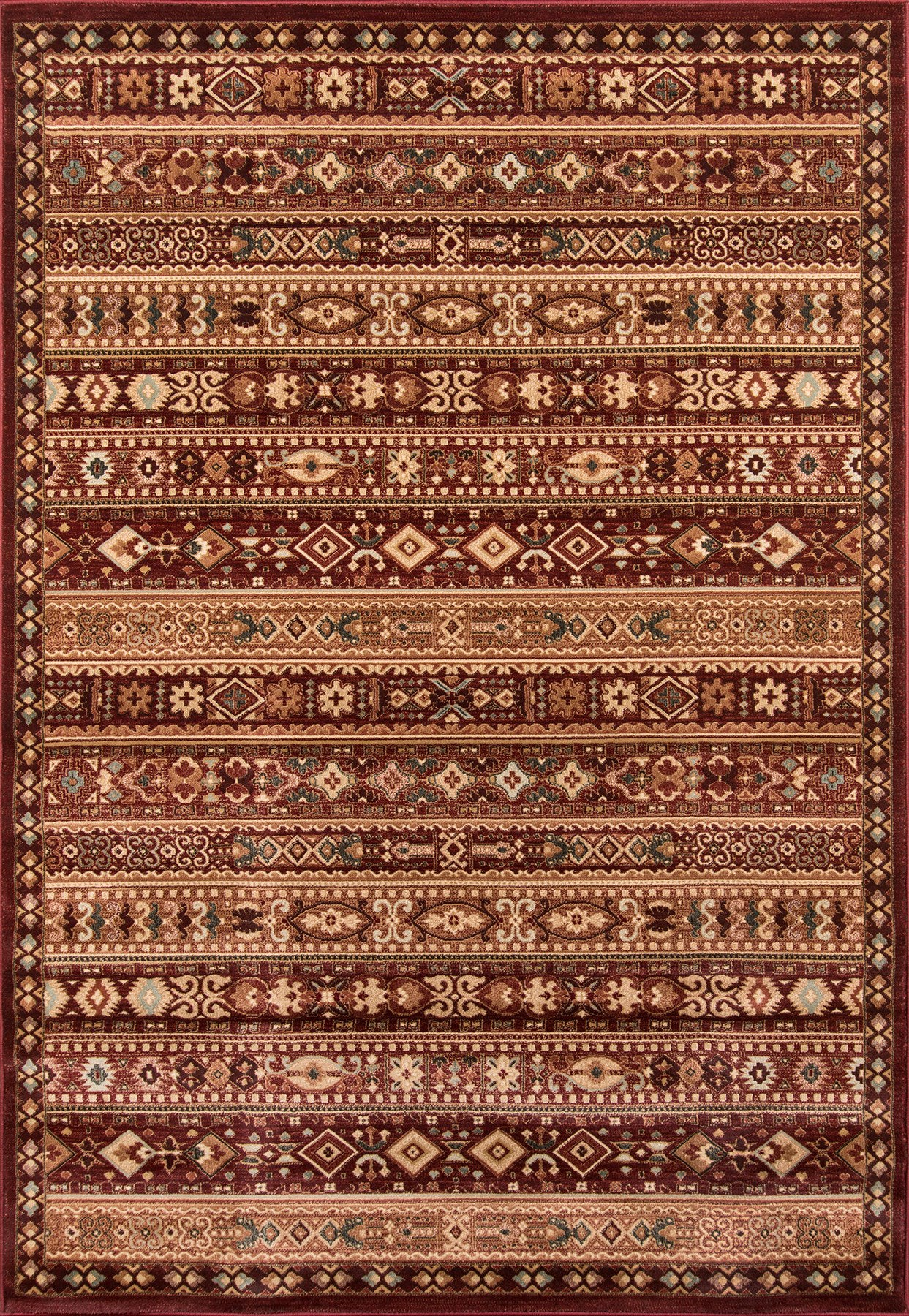 Momeni Belmont BE-04 Red Area Rug main image