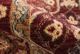 Momeni Belmont BE-05 Red Area Rug Detail Shot