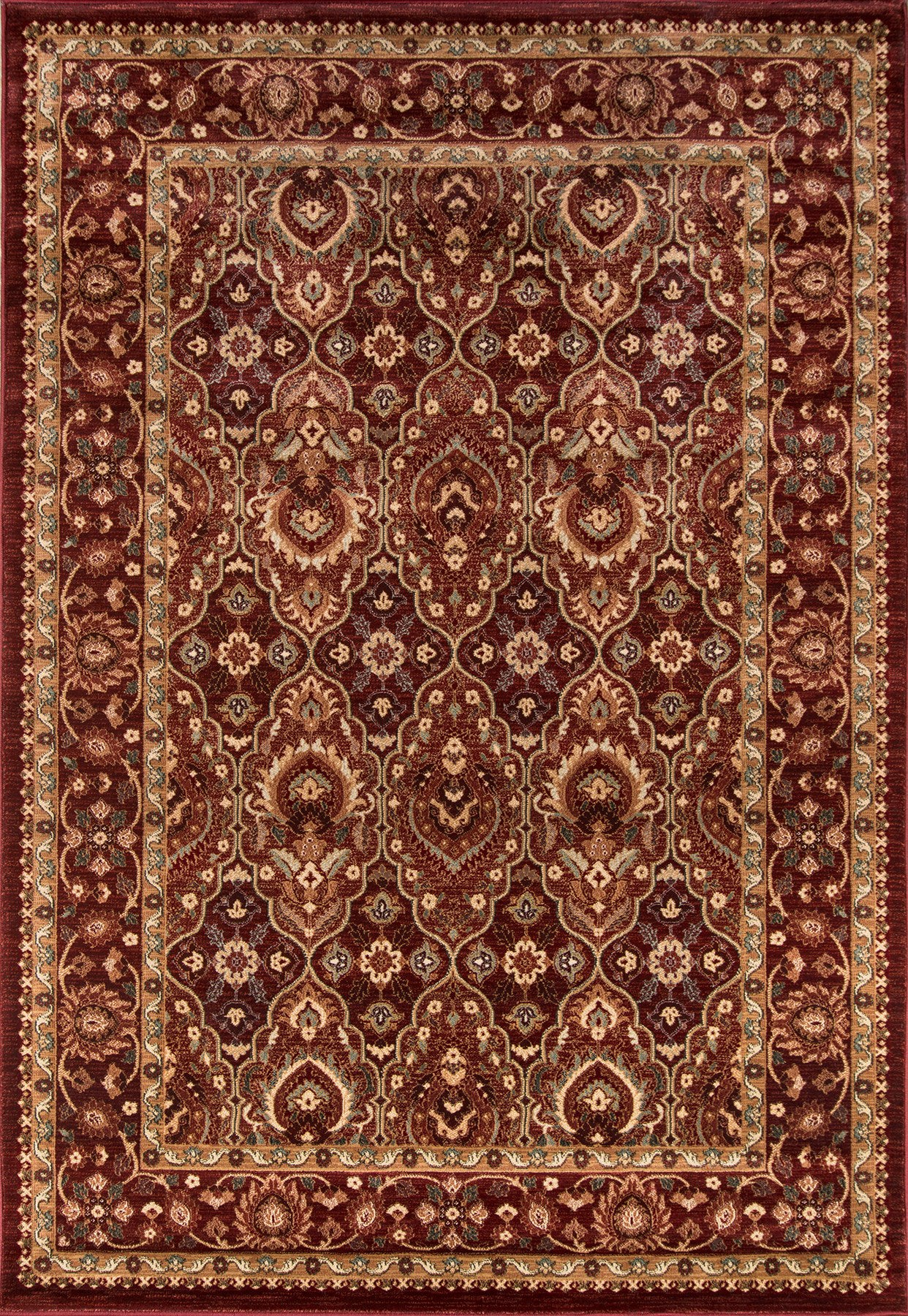 Momeni Belmont BE-05 Red Area Rug main image