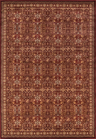 Momeni Belmont BE-07 Red Area Rug main image