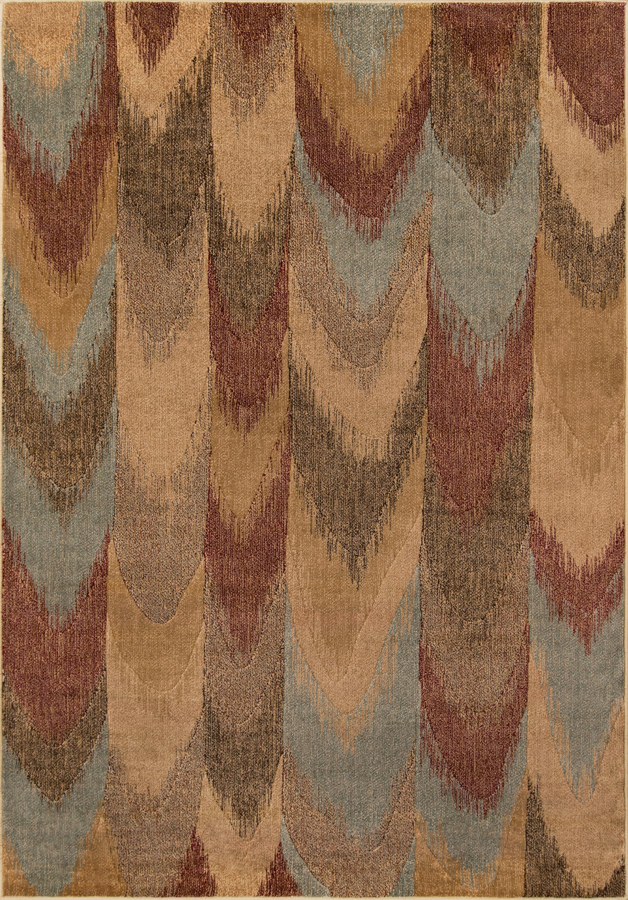 Momeni Belmont BE-08 Red Area Rug main image