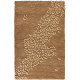 Surya Butterfly BFY-6804 Taupe Area Rug by Candice Olson 5' x 8'