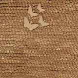 Surya Butterfly BFY-6804 Taupe Hand Woven Area Rug by Candice Olson Sample Swatch
