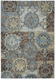 Rizzy Bennington BI4611 Blue/Yellow Area Rug