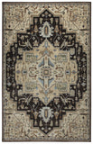 Rizzy Bennington BI4995 Black Area Rug