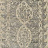Surya Bjorn BJR-1001 Grey Hand Knotted Area Rug by Jill Rosenwald Sample Swatch