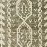 Surya Bjorn BJR-1002 Olive Hand Knotted Area Rug by Jill Rosenwald Sample Swatch