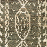 Surya Bjorn BJR-1003 Forest Hand Knotted Area Rug by Jill Rosenwald Sample Swatch