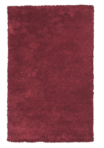 KAS Bliss 1564 Red Shag Area Rug main image