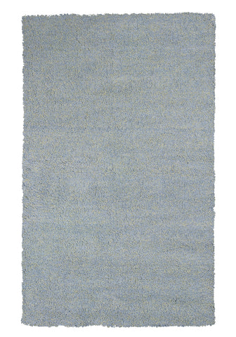 KAS Bliss 1582 Blue Heather Shag Area Rug main image