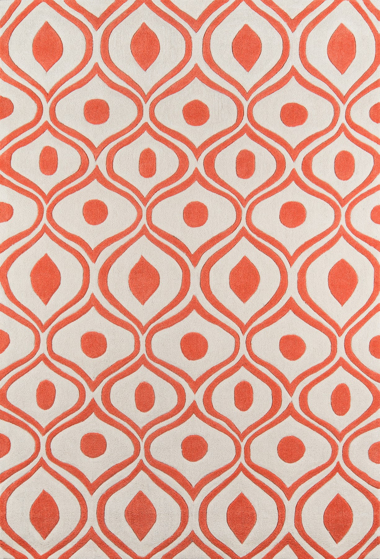 Momeni Bliss BS-09 Orange Area Rug main image