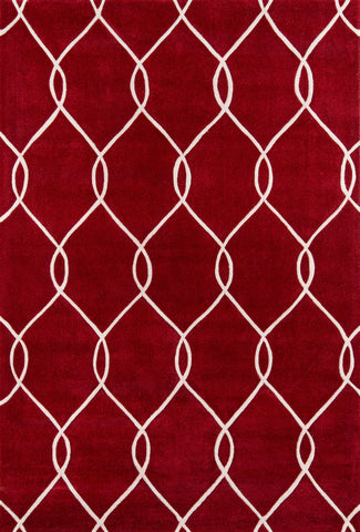Momeni Bliss BS-12 Red Area Rug main image