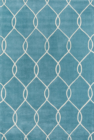 Momeni Bliss BS-12 Teal Area Rug main image