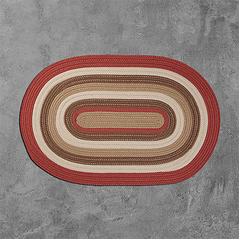 Colonial Mills Brooklyn BN79 Terracotta Area Rug main image
