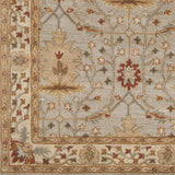 Surya Bungalo BNG-5014 Light Gray Hand Tufted Area Rug Sample Swatch