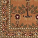 Surya Bungalo BNG-5016 Rust Hand Tufted Area Rug Sample Swatch