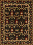 Surya Bungalo BNG-5019 Black Area Rug 8' X 11'
