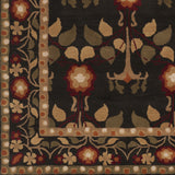 Surya Bungalo BNG-5019 Black Hand Tufted Area Rug Sample Swatch