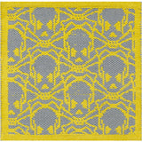 Surya Bones BNS-2000 Lemon Area Rug by Papilio Sample Swatch