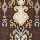 Surya Brentwood BNT-7673 Chocolate Hand Hooked Area Rug Sample Swatch