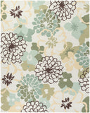 Surya Brentwood BNT-7692 Beige Hand Hooked Area Rug 8' X 10'