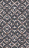 Surya Brentwood BNT-7698 Charcoal Hand Hooked Area Rug 5' X 8'