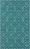 Surya Brentwood BNT-7704 Teal Area Rug 5' x 8'