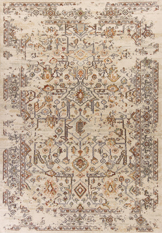 KAS Home Vintage 1309 Sand Marrakesh Machine Woven Area Rug by Bob Mackie